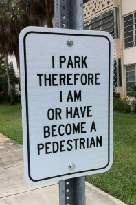 Test #1 Poetry Traffic Sign installation